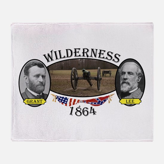 Wilderness Throw Blanket