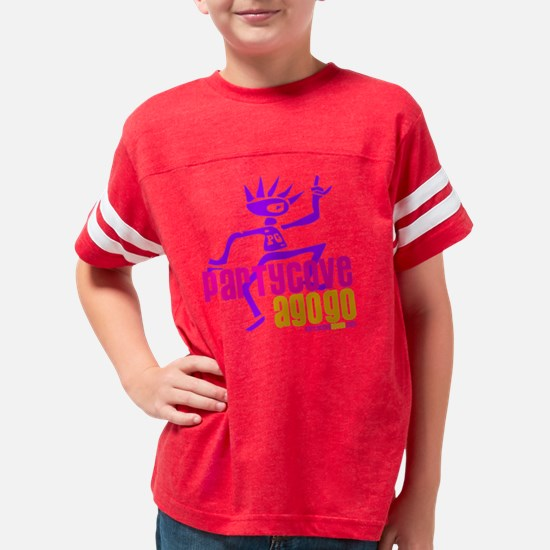 Party Cove A GoGo Logo3 Youth Football Shirt