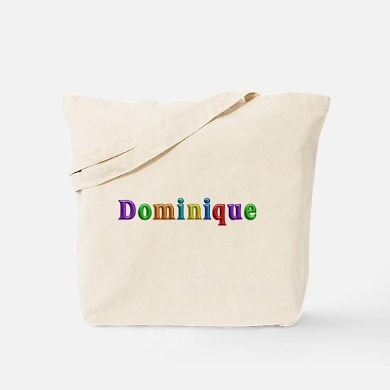 Dominique Shiny Colors Tote Bag
