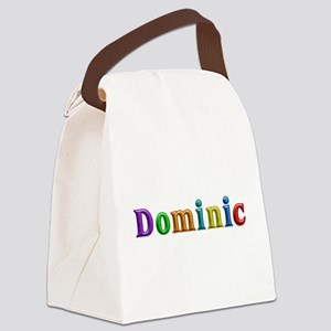 Dominic Shiny Colors Canvas Lunch Bag