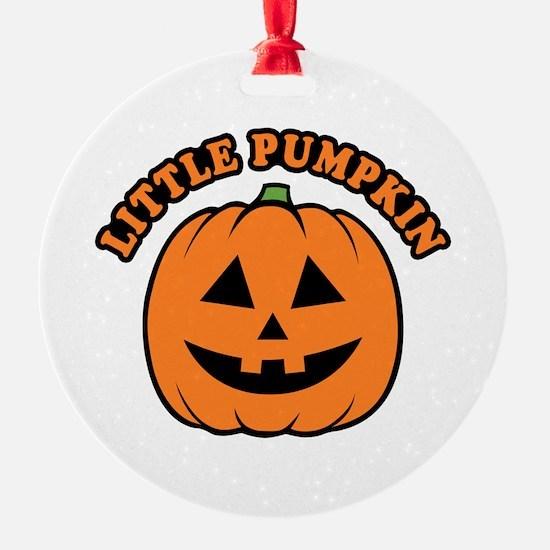 Little Pumpkin Ornament