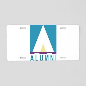 NWSA Alumni A Logo Aluminum License Plate