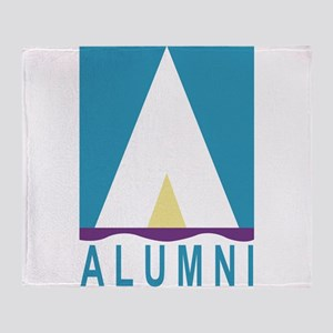 NWSA Alumni A Logo Throw Blanket