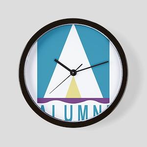 NWSA Alumni A Logo Wall Clock