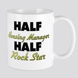 Half Housing Manager Half Rock Star Mugs