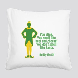 Elf the Movie Square Canvas Pillow