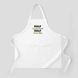 Half Hospital Doctor Half Rock Star Apron