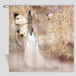 Fantasy Fairy Imbolc Spirit Shower Curtain