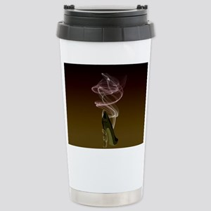 Smokin Stiletto High Heel Shoe Art Travel Mug