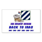 Back to Iraq Rectangle Sticker