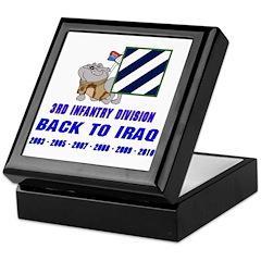 Back to Iraq Keepsake Box