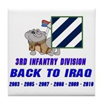 Back to Iraq Tile Coaster