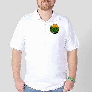 LIGHTED UP Golf Shirt