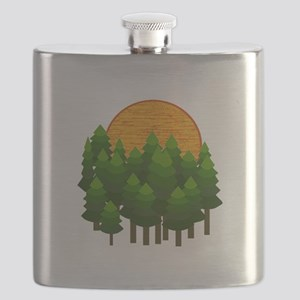 LIGHTED UP Flask