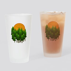 LIGHTED UP Drinking Glass