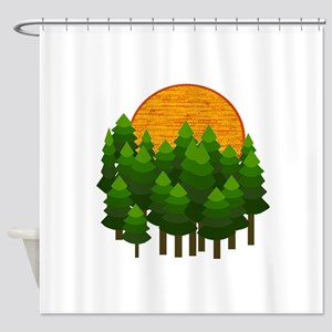 LIGHTED UP Shower Curtain
