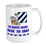Back to Iraq Large Mug