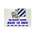 Back to Iraq Rectangle Magnet