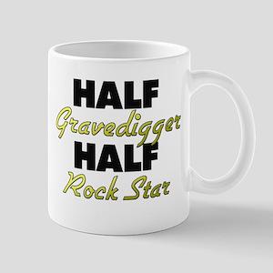 Half Gravedigger Half Rock Star Mugs