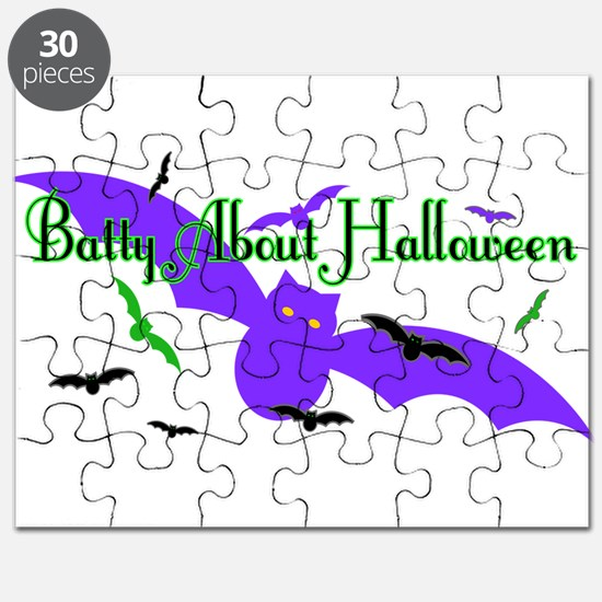 Batty About Halloween Puzzle