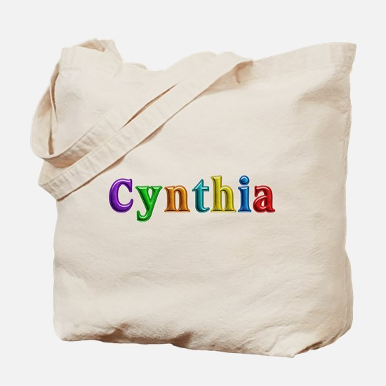 Cynthia Shiny Colors Tote Bag
