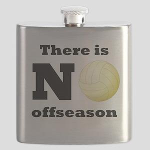 No Volleyball Offseason Flask