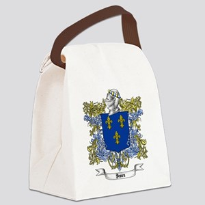Brown Family Crest 2 Canvas Lunch Bag