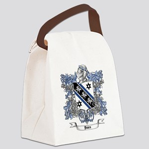 Brown Family Crest 4 Canvas Lunch Bag