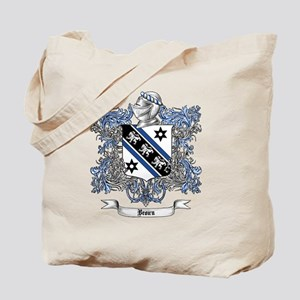 Brown Family Crest 4 Tote Bag