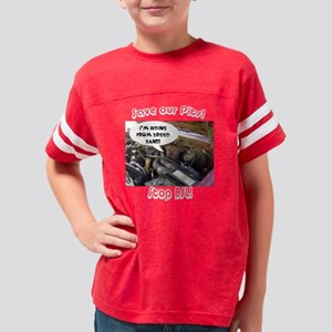 2-breedbandark Youth Football Shirt