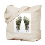 Nervous Feet Tote Bag
