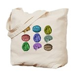 C Brain Tote Bag
