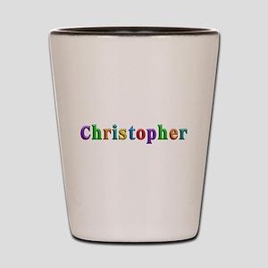 Christopher Shiny Colors Shot Glass