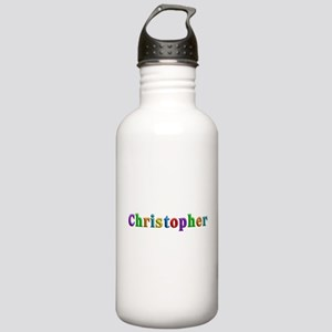 Christopher Shiny Colors Water Bottle