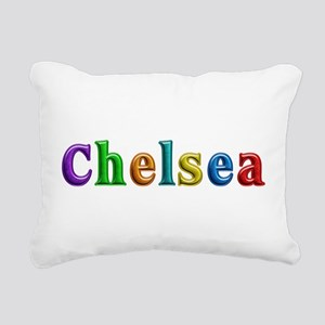 Chelsea Shiny Colors Rectangular Canvas Pillow
