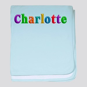 Charlotte Shiny Colors baby blanket