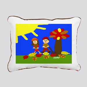 Autumn Harvest Rectangular Canvas Pillow