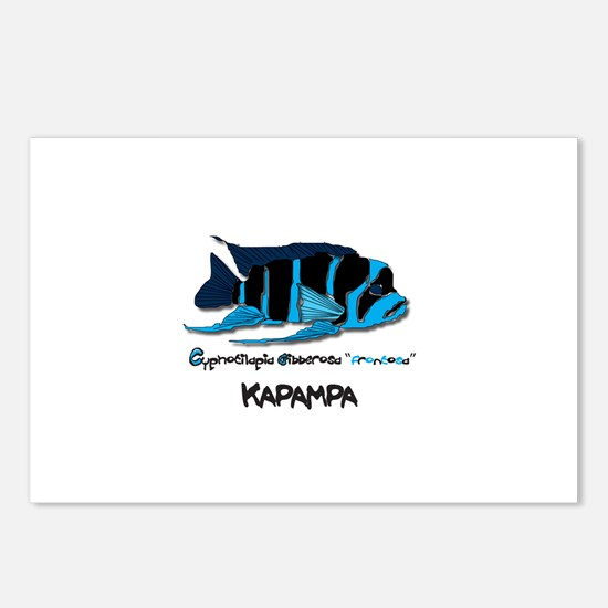 """""""KAPAMPA"""" Frontosa Postcards (Package of 8)"""