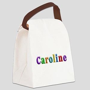 Caroline Shiny Colors Canvas Lunch Bag