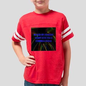 Kindness Enema Youth Football Shirt