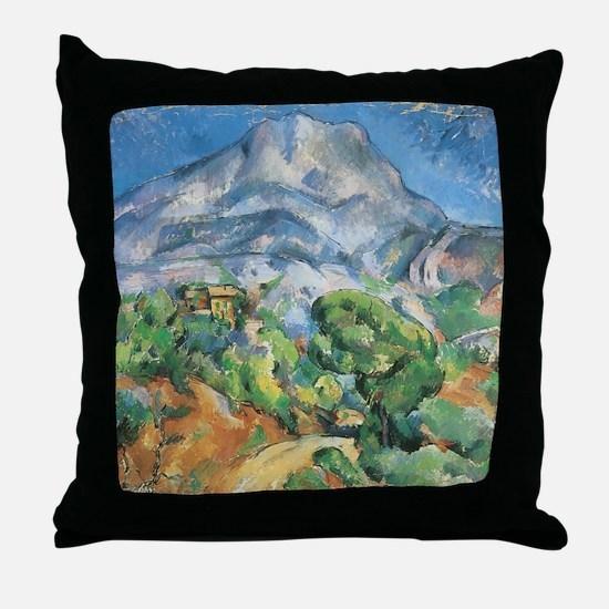 Cezanne Mont Sainte Victoire Throw Pillow