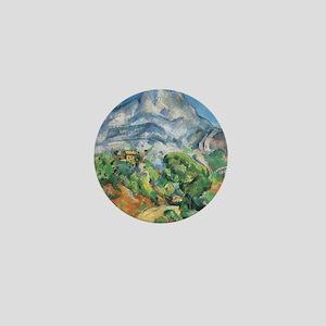 Cezanne Mont Sainte Victoire Mini Button