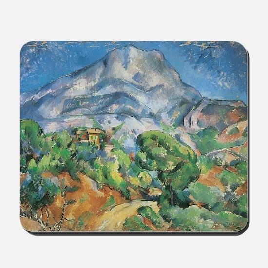 Cezanne Mont Sainte Victoire Mousepad