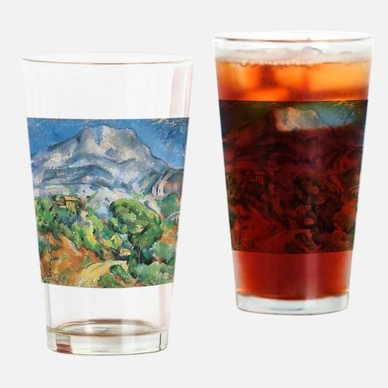 Cezanne Mont Sainte Victoire Drinking Glass