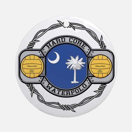 South Carolina Water Polo Ornament (Round)