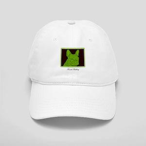 French Bulldog Rec (Green) Cap