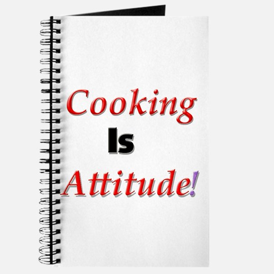 Cooking Is Attitude! Journal