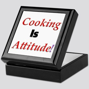 Cooking Is Attitude! Keepsake Box