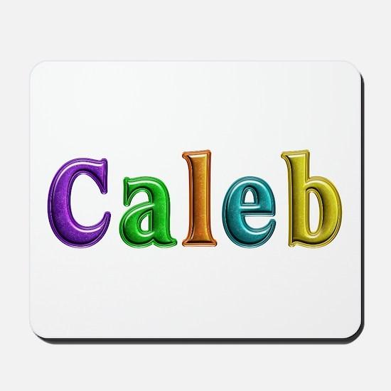 Caleb Shiny Colors Mousepad