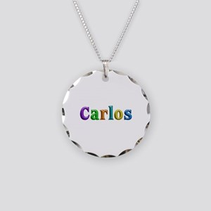 Carlos Shiny Colors Necklace Circle Charm